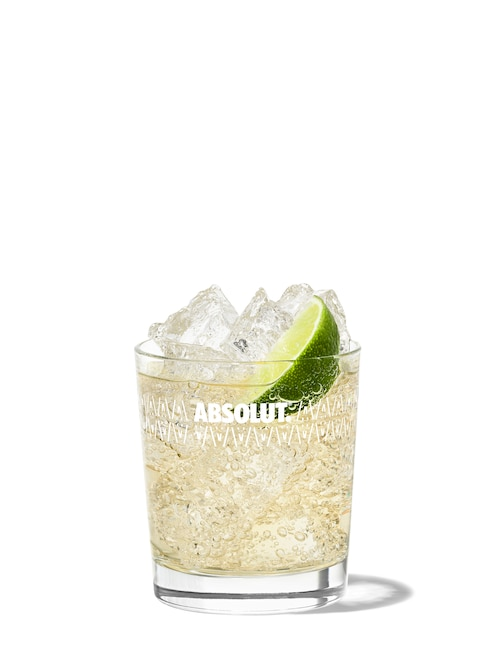absolut buck against white background