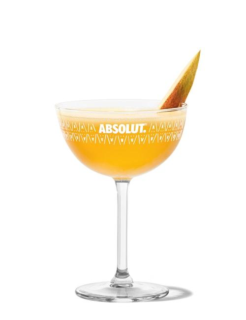 maartens mango martini against white background