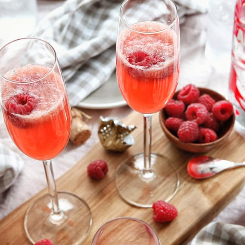 raspberry bellini in environment