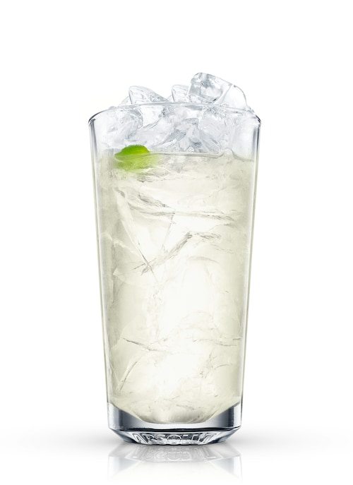 absolut rickey against white background