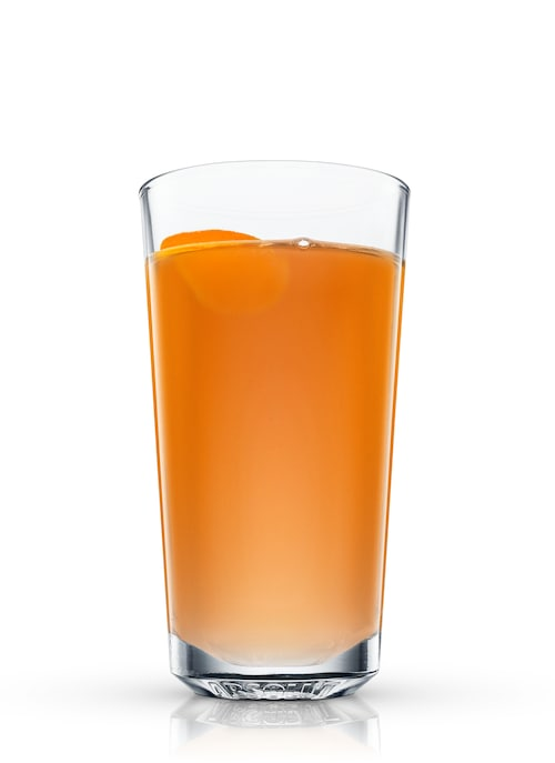 absolut apeach toddy against white background