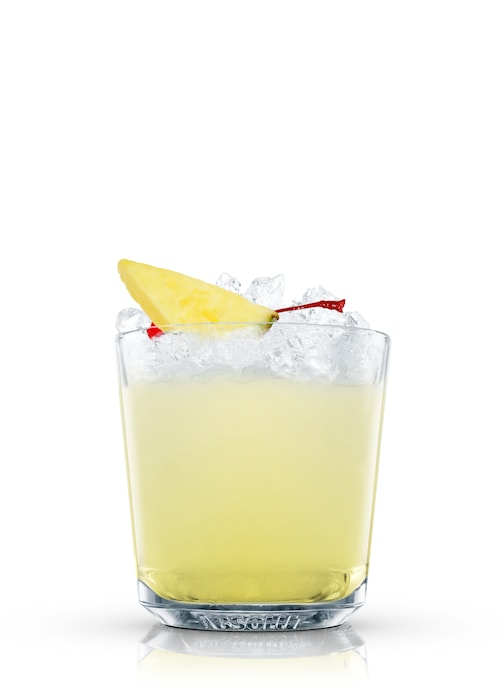gin punch against white background