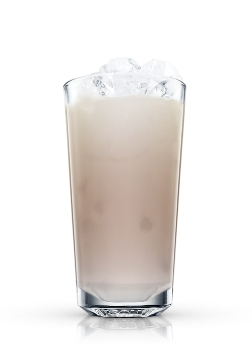 absolut peppar white russian against white background