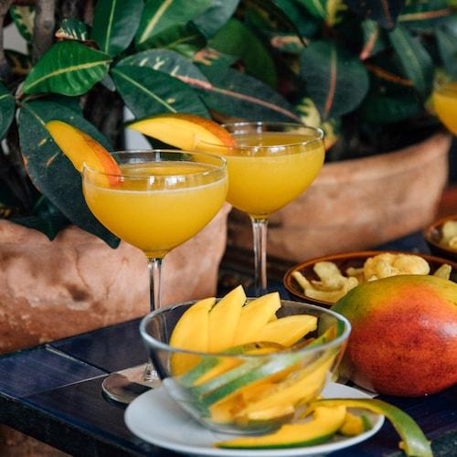 maartens mango martini in environment