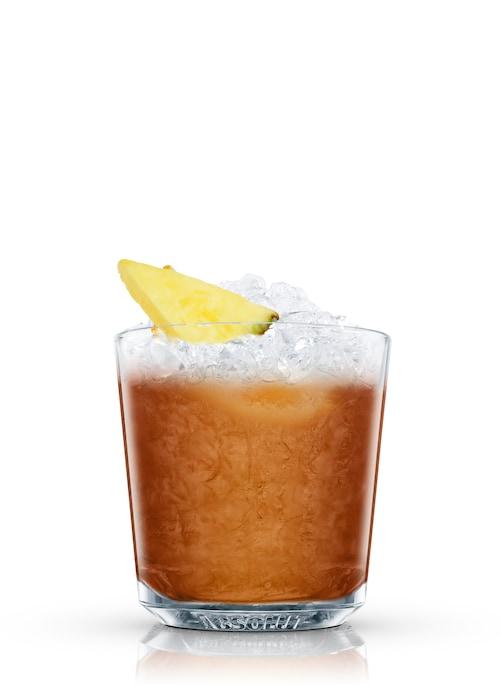 whisky cobbler against white background