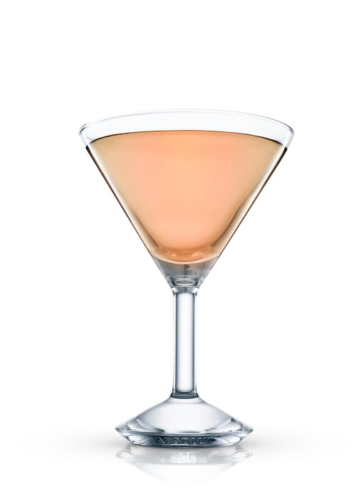 embassy cocktail against white background