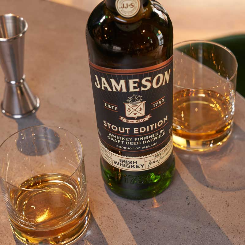 Jameson Stout Edition Neat