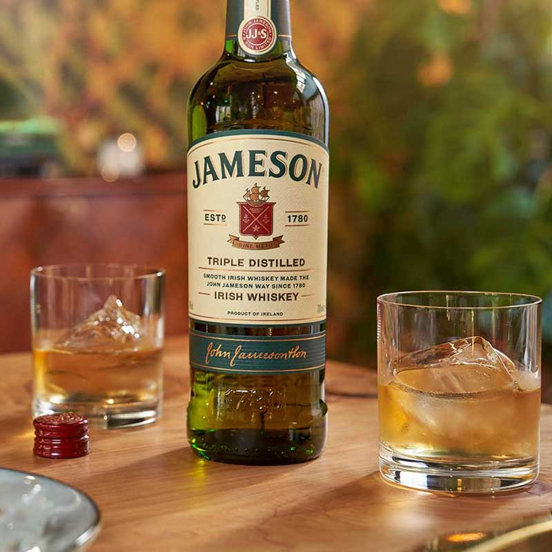 Jameson on the Rocks