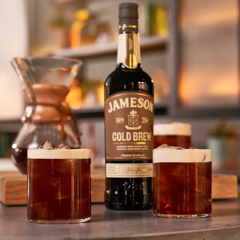 Jameson Cold Brew-tini