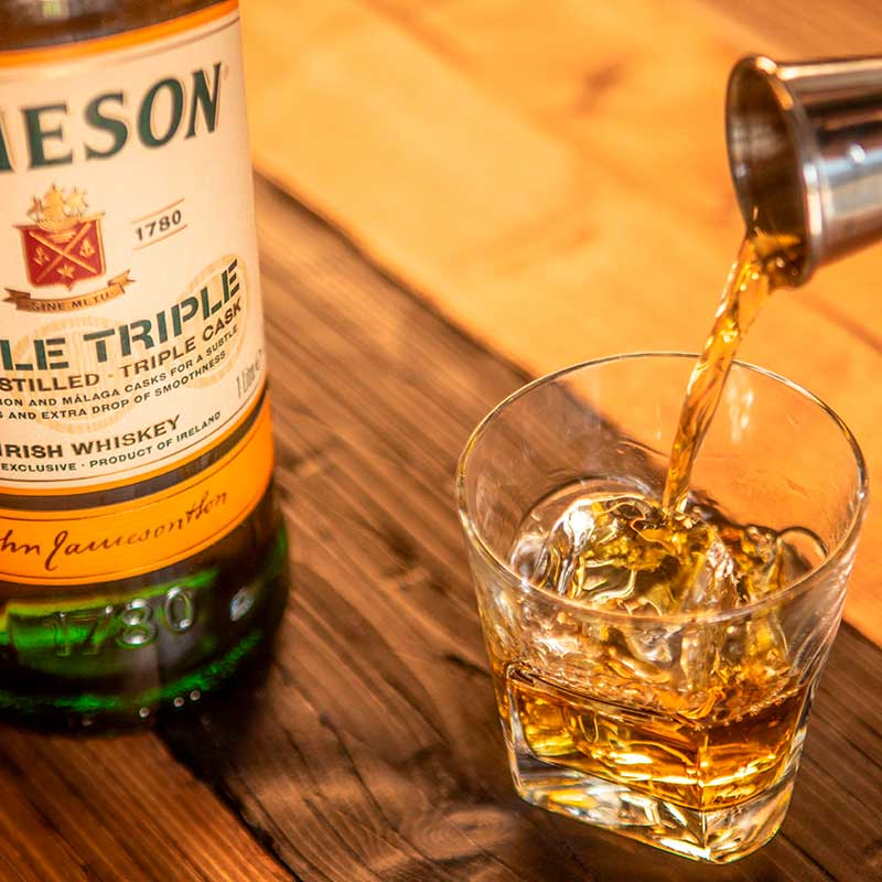 Jameson Triple Triple on the Rocks