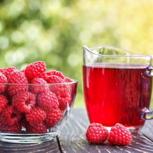 Raspberry juice to Increase Energy and Stamina